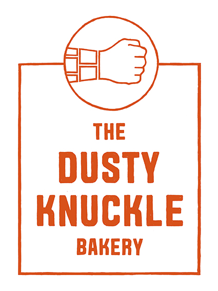dusty knuckle red